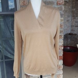 Brooks Brothers cashmere/silk sweater